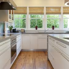 contemporary kitchen cabinets handles