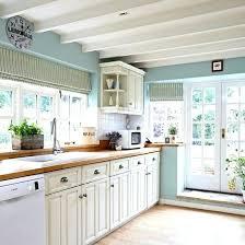 duck egg blue painted kitchen cabinets decor chalk paint