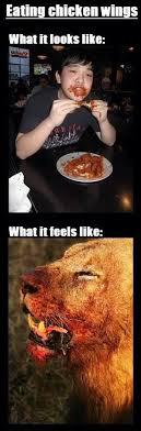 Chicken Wing Meme - how i eat buffalo wings hot sauce meme the official scott