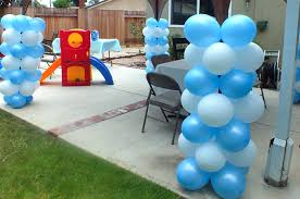 Columns For Party Decorations Disney Frozen Balloon Decorations Two Sisters Crafting