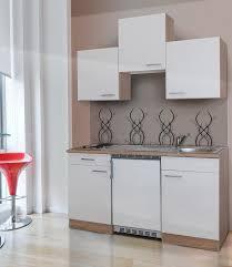 miniküche respekta miniküche mit e geräten breite 150 cm otto