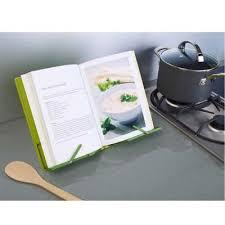 porte livre cuisine lutrin de cuisine pliable cook book vert vert achat vente