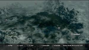 Skyrim World Map by Forelhost Skyrim Elder Scrolls Fandom Powered By Wikia