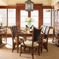 Formal Dining Room Sets For 10 Tommy Bahama Island Estate 11 Piece Dining Set With 10 Mangrove