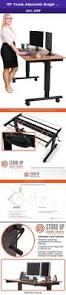 Adjustable Height Desk Frame by 17 Terbaik Ide Tentang Adjustable Height Desk Di Pinterest