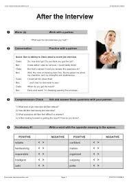 job vocabulary efl esl search worksheet results