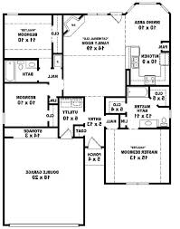 Awesome One Story House Plans 10 Slab House Plans Single Story House Plans With Lots Of Storage