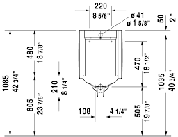 starck 3 urinal 082444 duravit