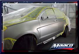 Maaco Paint Price Estimates by It All Started With A Big Dent In The Door Maaco Dent Repair