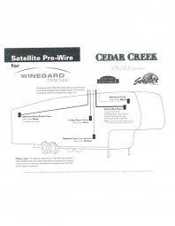 cedar creek pre wire for winegard traveler forest river forums