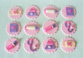 Doc Mcstuffins Home Decor 24 Doc Mcstuffins Tools Inspired Sparkly Fondant Cupcake