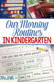 best 25 kindergarten morning routines ideas on pinterest