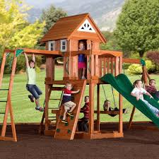 Backyard Adventure Playset by Play Gyms