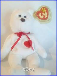 ty valentino ty valentino beanie baby misspelled tag and pvc pellets
