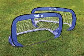 2 fast fold pop up soccer goal mitre usa