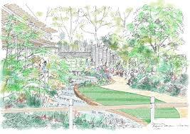east village chelsea flower show garden sketches michael