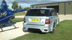 land rover modified modified range rover sport without rear doors youtube