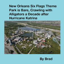 Six Flag New Orleans Flipbook New Orleans Six Flags Theme Park Is Bare Crawling With