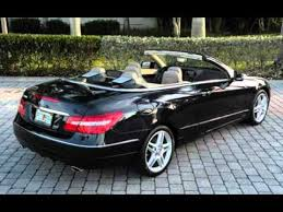 mercedes e class convertible for sale 2011 mercedes e350 convertible ft myers fl for sale in fort