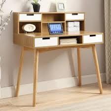 langley street phoebe writing desk with hutch u0026 reviews wayfair