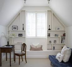 built in shelves ideas home office traditional with ceiling