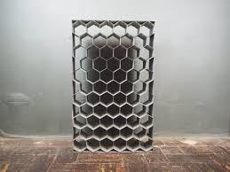 large industrial wine rack vintage galvanized metal sevenbc