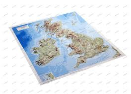 Relief Map 3d Relief Map Of British Isles 3d Countries And Regions Maps