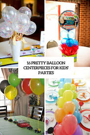 Balloon Centerpieces For Tables 16 Pretty Balloon Centerpieces For Kids U0027 Parties Shelterness