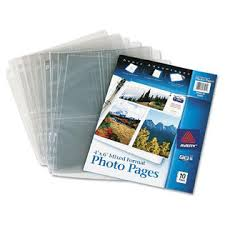 4x6 photo pages for 3 ring binder avery photo storage pages for six 4 x 6 mixed format photos 3