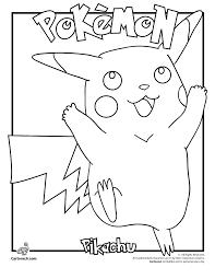 pikachu pokemon coloring woo jr kids activities