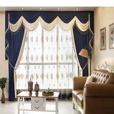 White Lace Valance Curtains Aliexpress Com Buy New Italian Velvet Flannel Window Curtains