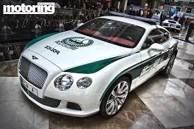 bentley dubai dubai police supercars video motoring middle east car news