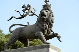 lion of judah statue addis ababa pictures africa in global geography