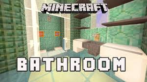 minecraft bathroom designs minecraft tutorial how to make a modern bedroom design coral