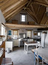 kitchen style custic country kitchen wooden ceiling beach kitchen