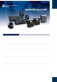 ge portable generator generator protection g60 pdf user u0027s manual