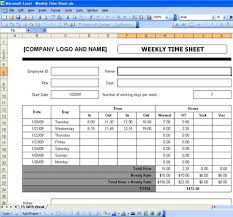 Free Excel Payroll Template Excel Timesheet Templates Free