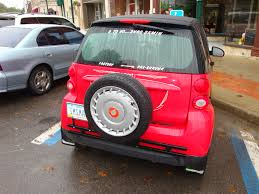 smart car lifted tire and rack tags smart car spare tire color car tires car wing