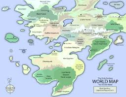 Thedas Map The Only Fantasy World Map By Eotbeholder On Deviantart