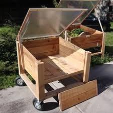 movable cedar planter garden boxes that way i can still start my