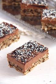 walnut chocolate buttercream cake