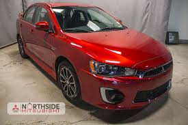 new mitsubishi evo 2017 new mitsubishi lancer for sale in edmonton ab