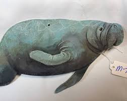 manatee gifts etsy