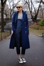 casual ideas how to wear overalls in the fall and winter