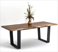 live edge table west elm modern rustic furniture attractive contemporary wood live edge