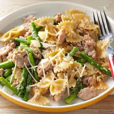 New Dinner Recipe Ideas Check Out Bow Ties With Sausage U0026 Asparagus It U0027s So Easy To Make