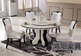 white marble dining table set ikea white marble dining table round table turntable combination