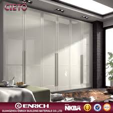 high quality 2017 modern high gloss finished wooden hinged door