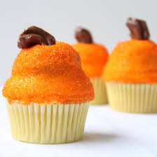pumpkin cupcakes itsy bitsy foodies