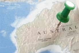 Australian Map Free Stock Photo 10675 Green Pin Pinned On Australian Map